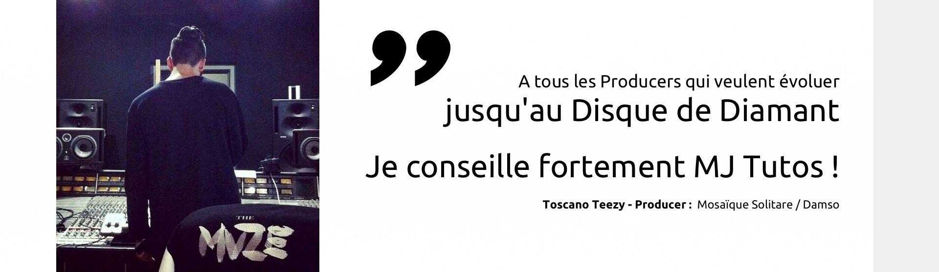 Toscano Teezy recommande MJ Tutoriels<span></span>