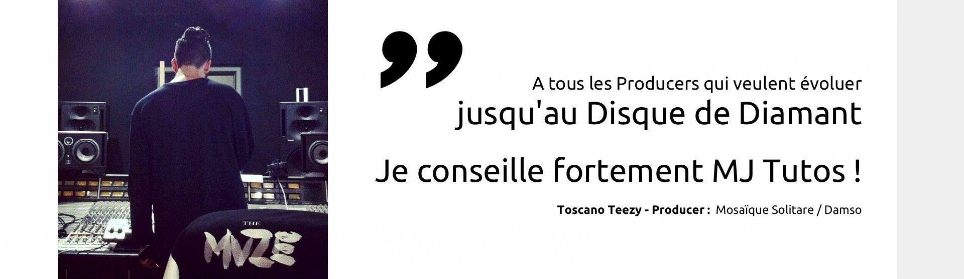 Toscano Teezy recommande MJ Tutoriels <span></span>