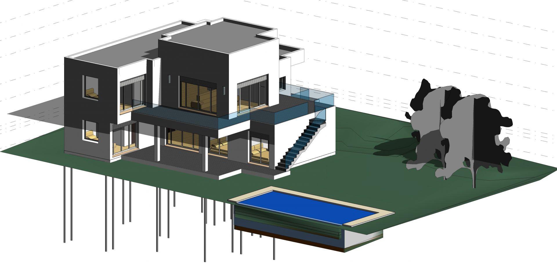 Modelo Arquitectónico 3D<span></span>